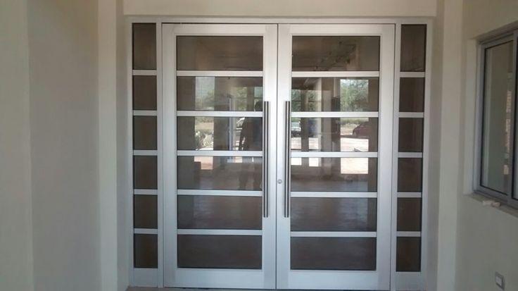 Puertas de aluminio natural brillante buscar con google for Catalogo de puertas de aluminio