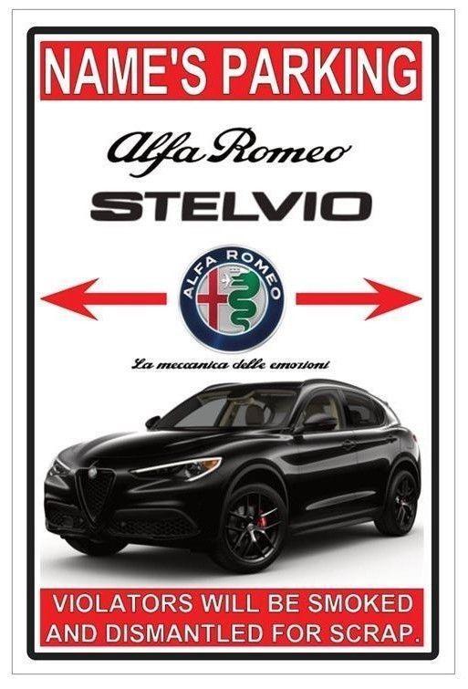 Details About 2019 Alfa Romeo Stelvio Nero Edizione Reserved Parking