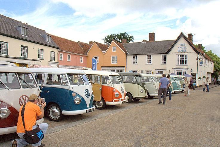 Lavenham Vintage Volkswagen Show