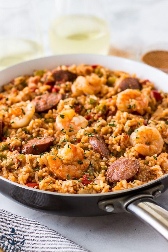 Satisfy your comfort food needs with some fresh Jambalaya!