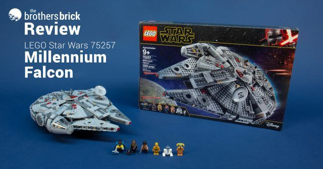 Lego Star Wars 75257 Millennium Falcon From The Rise Of Skywalker Review Lego Star Wars Lego Star Lego War