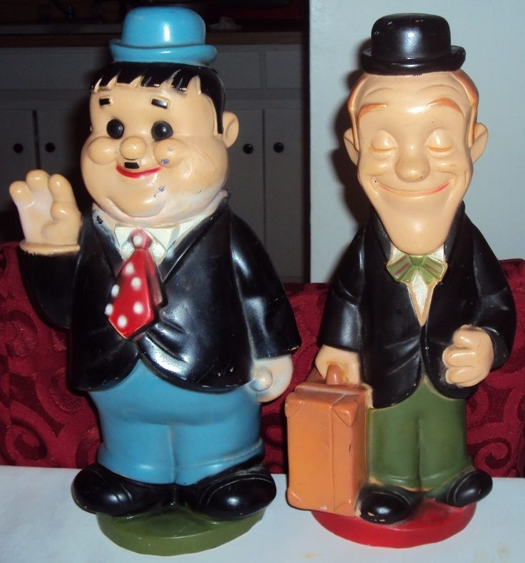 Laurel and Hardy piggy banks