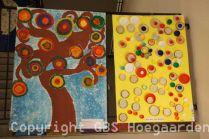Kunsttentoonstelling op school