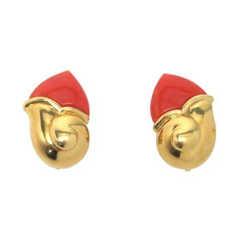 de Grisogono Gold Coral Earrings – Stanley Michael Distinguished Jewels