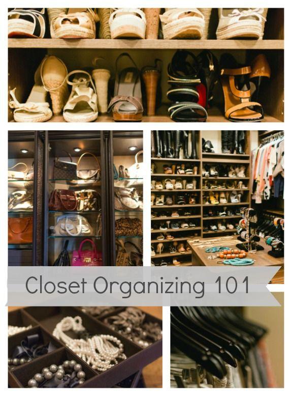 Closet Organizing 101~ Tips on maximizing space & showcasing your wardrobe