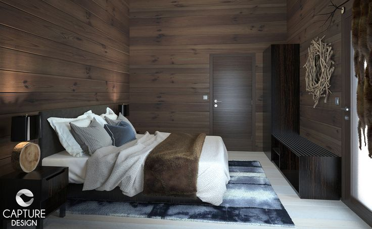 Interior Design for a set of Luxury Cottages, in Saariselkä, Finland. Interior Design and 3D Modeling by Capture Design Oy