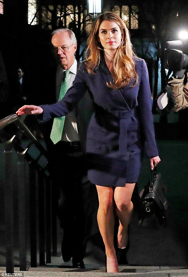 4b782e0f571a ... The former model cut a striking figure in $555 blazer dress by Theory  when she attended a meeting with the House House Intelligence Committee on  Tuesday