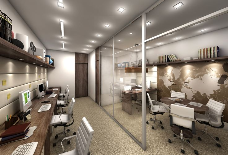 Escolhemos estes tons para o nosso escritório novo.   Foto inspired do Projeto da arquiteta Pricila Dalzochio. www.priciladalzochio.com.br