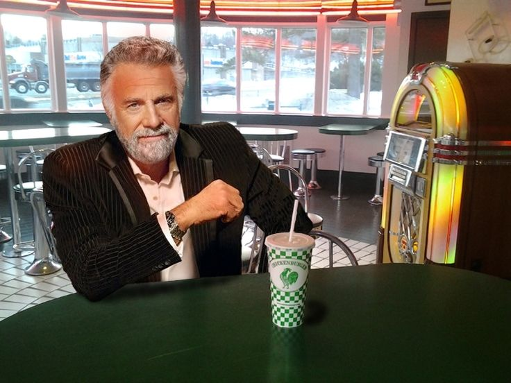 Create your own images with the The Most Interesting Man In The Chickenburger meme generator.