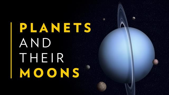 planet with the most moons in our solar system - photo #24