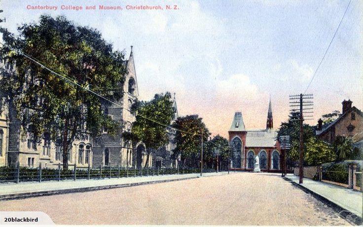 Christchurch Canterbury College & Museum | Trade Me