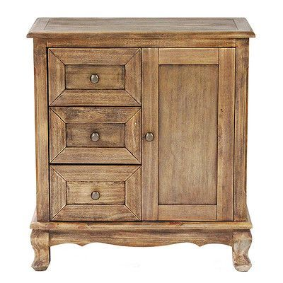 Heather Ann 3 Drawer And 1 Door Accent Cabinet Finish