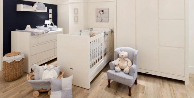 Yalın Bebek Odaları