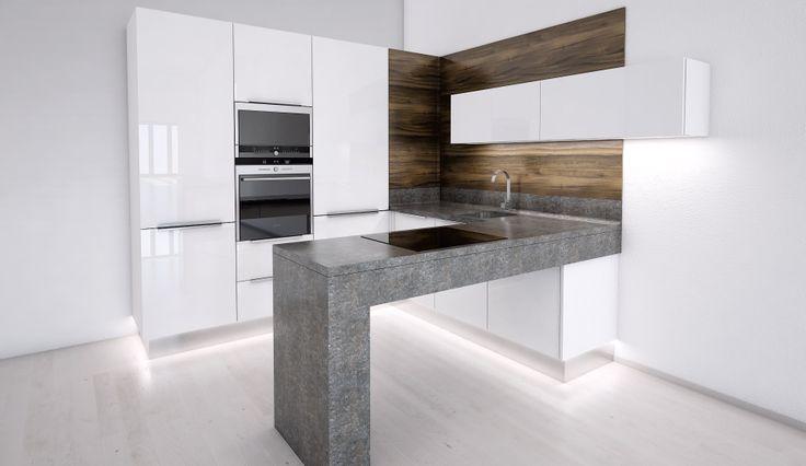 I malá kuchyň si zaslouží moderní design