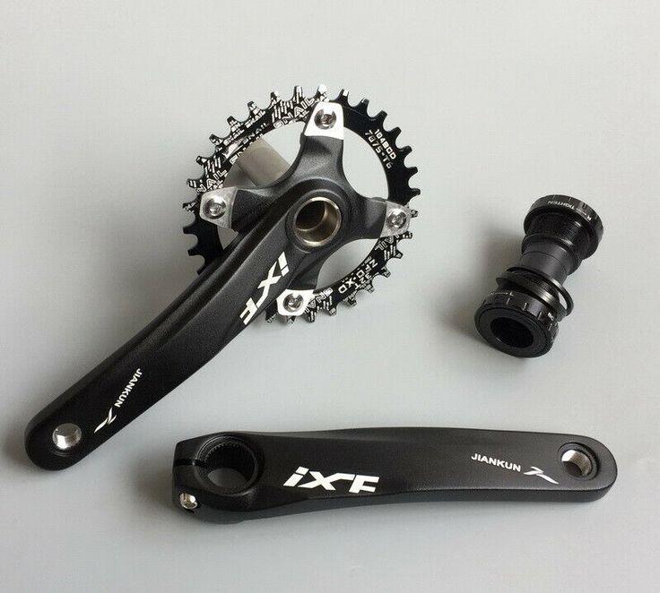 BMX Bike IXF Crankset crank arm 170mm BB Narrow-Wide Round Oval 32T Chainring