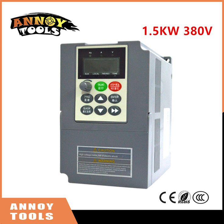 High Quality 380V 1.5kw 3.8a Frequency Drive Inverter  CNC Driver CNC Spindle motor Speed control,Vector converter #Affiliate