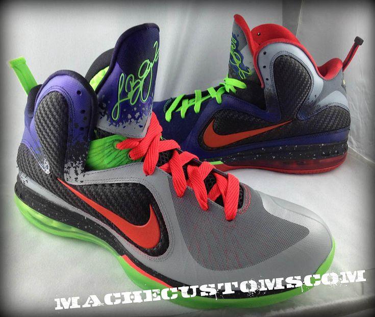 a4171e82dd9 2015 Cheap Nike Lebron 9 Un Nerf Custom