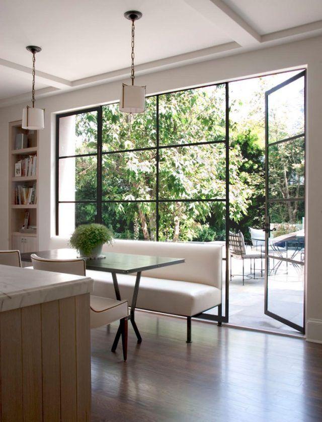 Verrière extérieure atelier pour conférer à la maison un aspect distinctif