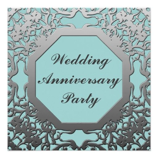 Best Th Anniversary Party Invitations Images On