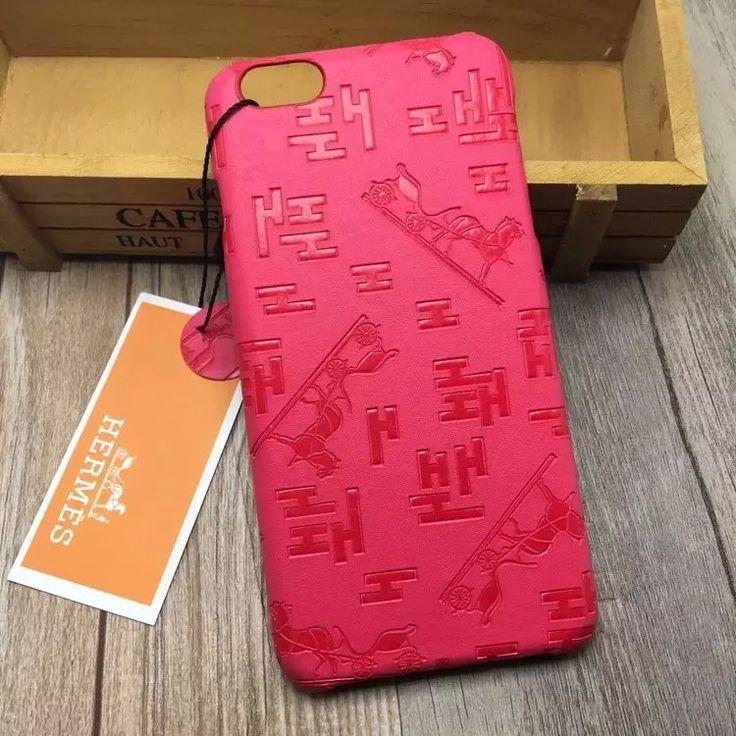 iPhoneケース30代女性ブランドエルメスHermes iPhone7/plus/6sエンボス加工高質