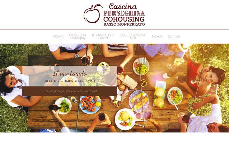 web site cascina perseghina cohousing monferrato italy
