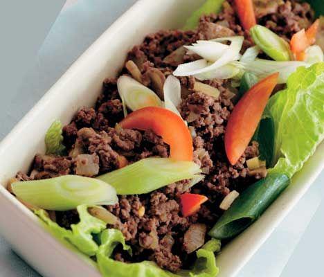 Opskrift på Thai oksekød fra - Hendes Verden