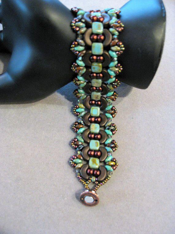 4455 Best 2 Hole Bead Designs Images On Pinterest