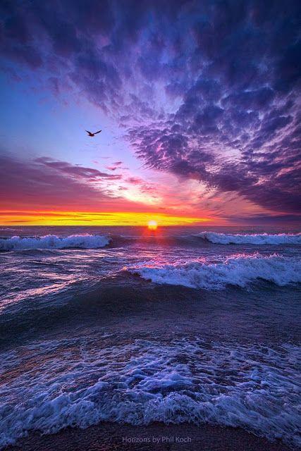 Ocean Sunset ~ Marvelous Nature