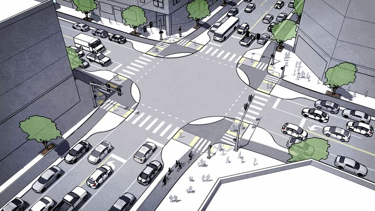 This Intersection Could Save Cyclists' Lives | Co.Design | business + design