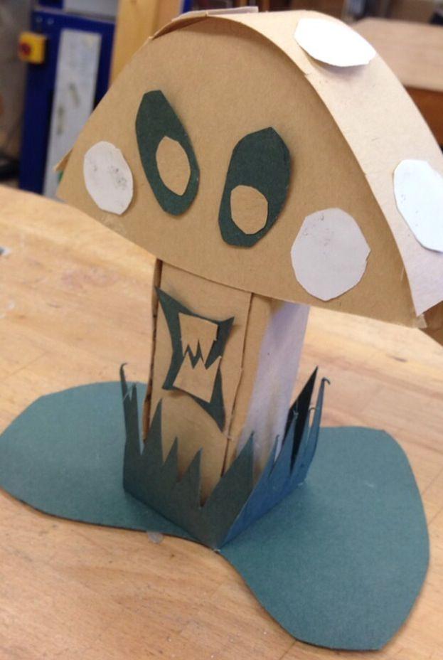 Design 1 using paper