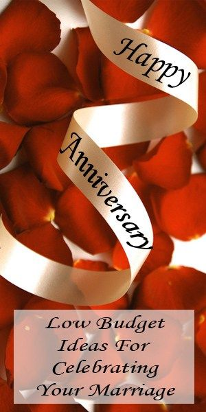 Anniversary Ideas on a Low Budget
