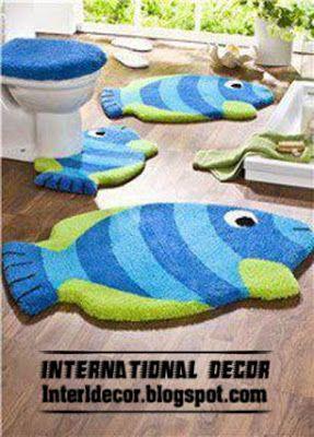 Elegant 10 Modern Bathroom Rug Sets, Baths Rug Sets, Models, Colors