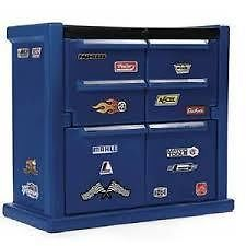 STEP 2 - STOCK CAR CHEST DRESSER - Give your bedroom a tune up with sturdy store