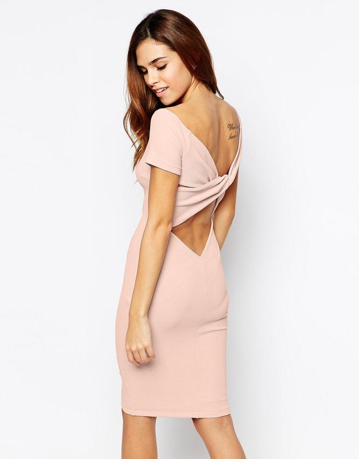 TFNC Mini Dress With Off Shoulder