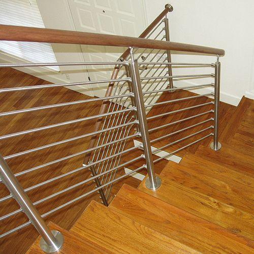 Stainless Steel Stair #Railings