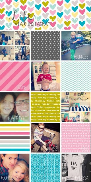 TEAM PAYNE: Team Payne's Summer According to Instagram using simpleasthat.com templates