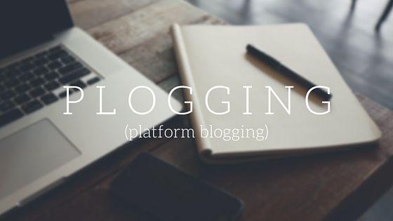 Kentungweb - Informasi Teknonogi Gadget Smartphone Terkini dan Download Software: Inilah Plogging, Era Baru Dalam Blogging