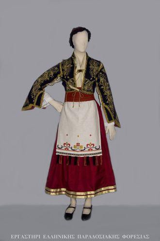 Η Παραδοσιακή Κρητική Φορεσιά - Σφακιά
