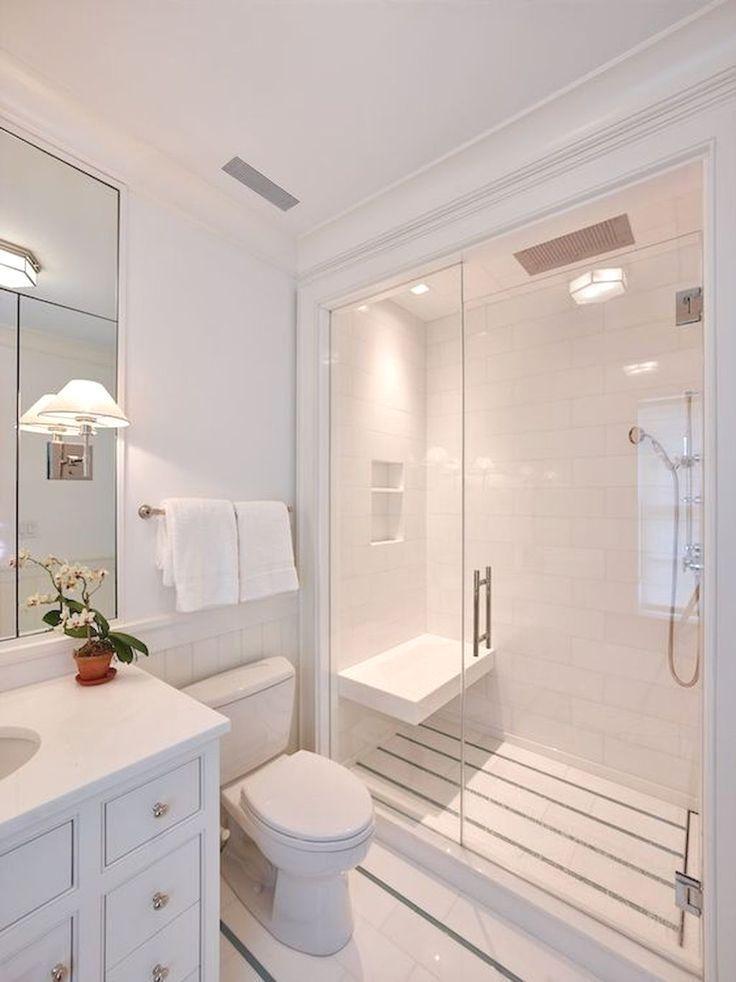White Bathroom Ideas These 27 Dazzling White Washrooms Use