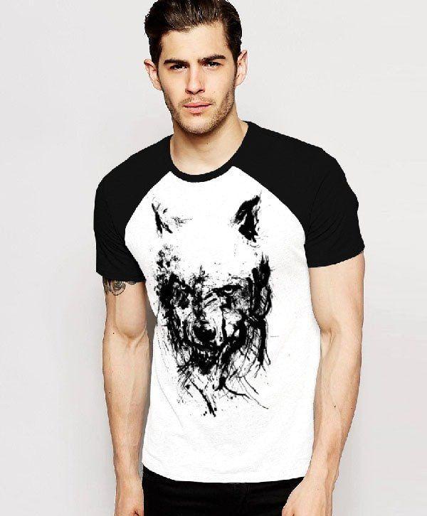 Мужские футболки с волками Вумерел