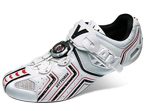Vittoria Hora Cycling Shoes. Rotor closure system. Bukle closure. Microfiber upper. Carbon UD sole. Ethylene vinyl acetate insole.
