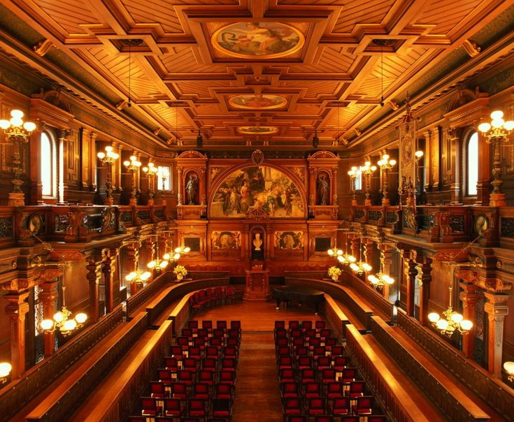 Heidelberg, Old Assembly Hall at the university