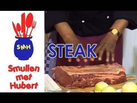 Smullen met Hubert: Steak.