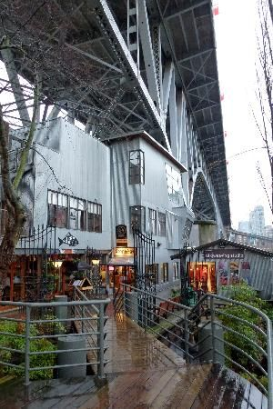 Granville Island Restaurant, Sandbar, Vancouver, BC - Recommended to me by Naomi from TD (she said it's not the best place in Vancouver but good for Granville Island)