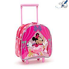 Valise à roulettes Minnie Mouse petit format