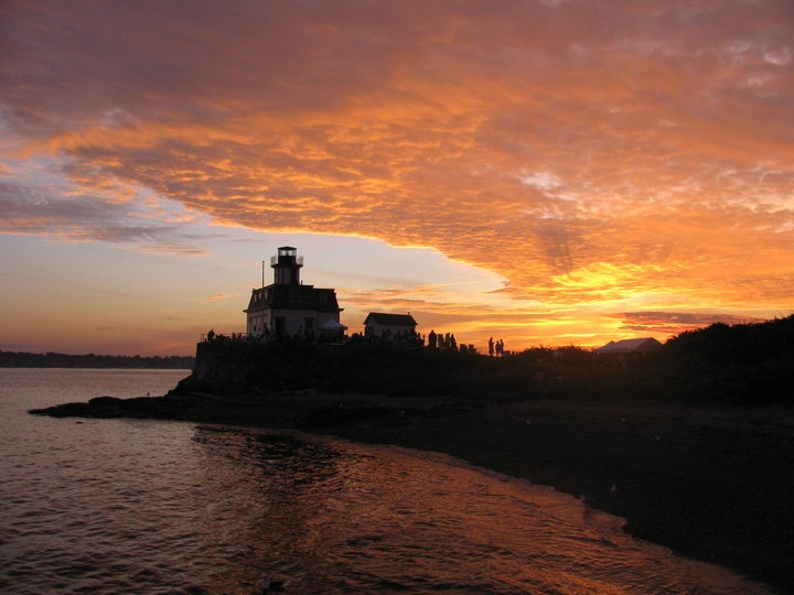 Rose Island Lighthouse, Newport, RI #SoNElighthouse, #SoRI