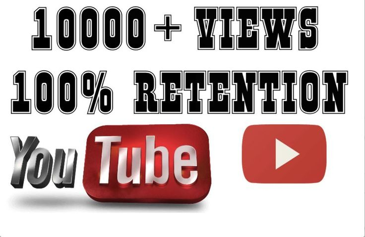Give you 10000 high retention non drip views and 100 likes for your video