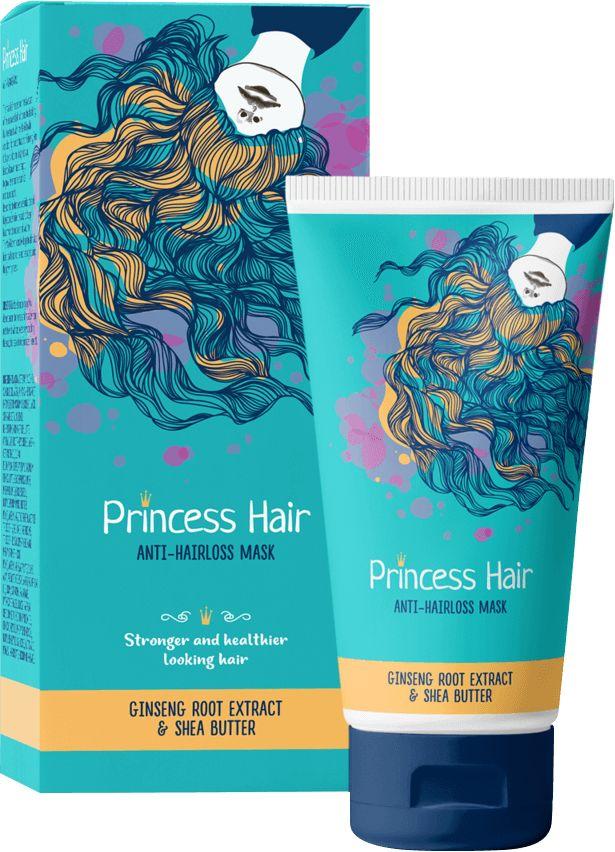 Maseczka na porost włosów Princess Hair