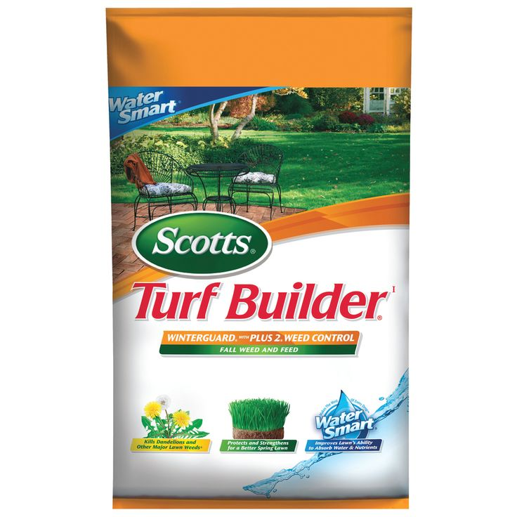 Scotts Turf Builder Winter guard with Plus 2 Weed & Feed Water Smart 42.87 Pound(S) Lawn Food (28 Percentage- 0 Percentage- 10 Percentage)