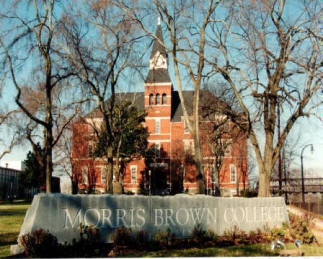 Morris Brown College Facing Foreclosure